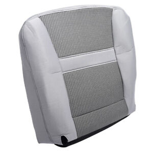 For Dodge Ram 2500 3500 2006 2010 2009 08 07 Cloth Driver Bottom Gray Seat Cover