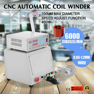 1pcs Cnc Automatic Coil Winder Winding Machine 400w For 0 03 1 2mm