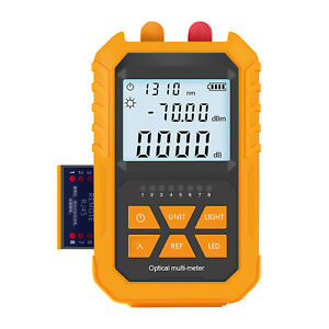 Handheld Optical Power Meter With 5km Red Light 70 3dbm Mini Optical T9x0