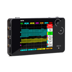 Ds212 Dso Portable 2 Channel Digital Oscilloscope Pocket Size Usb Interface W0z4