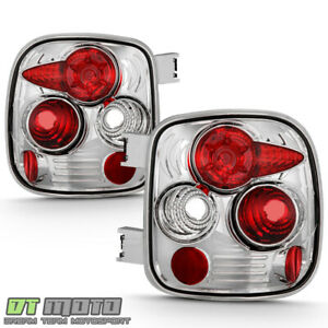 1999 2004 Chevy Silverado Gmc Sierra 1500 Stepside Tail Lights Lamps Left right