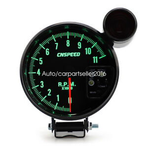 High Quality Car Rpm 5 1km Tachometer Gauge 7color Backlight Led Shift Light