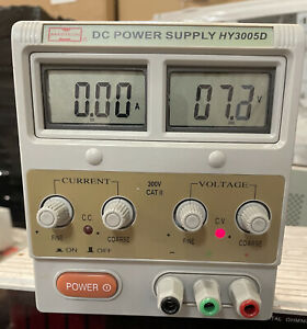 Mastech Linear Hy3005d Dc Power Supply