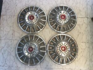 Set Of Four 1968 Mustang Hubcaps