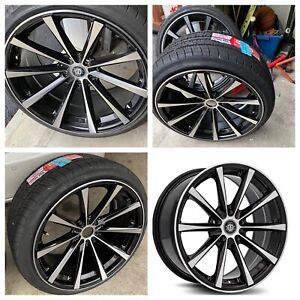 Curva C10n 20 Inch Rims And Tires Brand New