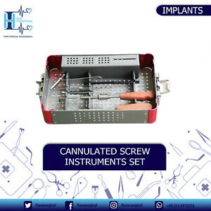 7 3mm Cannulated Screw Orthopedic Genaral Surgical Instruments Set