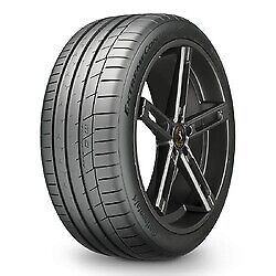 2 New 285 40zr17 Continental Extremecontact Sport Tire 2854017