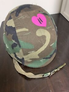 Military Ballistic Made with Kevlar Helmet With Cover #11 $129.00