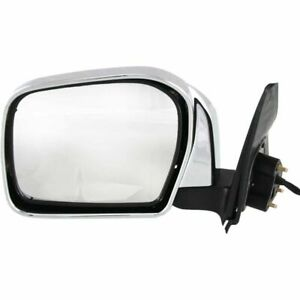 Door Mirror For 00 04 Toyota Tacoma Power Non heated Chrome Driver Side