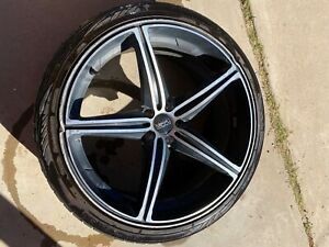 Foose Speed F136 Wheelset Machine Black 22in W Toyo Proxes S t Tires