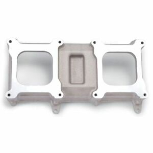 Edelbrock 7073 Intake Manifold Aluminum Natural Tunnel Ram Top For Sb Chevy New