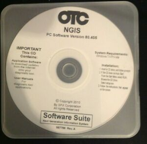 Otc Genisys Ngis Software version 80 405 pre Owned