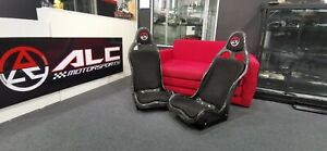 Full Dry Carbon Bucket Seat With Suede Padding