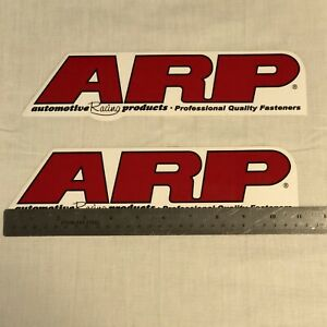 Arp Racing Decals Stickers 2 75x11 Drags 2 In Pack
