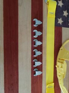 Bullard Hard Hat Liner Replacement Clips Only Six Clips no Liner Or Straps