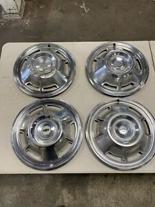 1968 Chevy Camaro 14 Wheel Covers Hubcaps Set Of 4