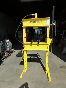 Enerpac 25 Ton H Frame Press Air Hydraulic 14 Stroke Nice