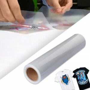 Heat Press Transfer Materials 24 x50ft Roll printable Vinyl And Clear Tape