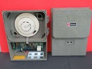 Simplex 2098 9645 Fire Alarm Duct Smoke Detector W 2098 9201 Installed