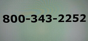 Toll free 800 Phone Number