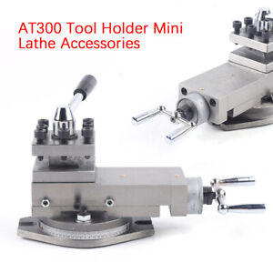 At300 Holder Mini Lathe Accessory Metal Lathe Assembly 80mm Metalworking Tools