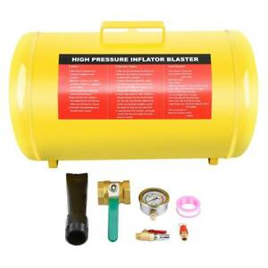 10 Gallon Air Tire Bead Seater Blaster Tool Seating Inflator Truck 145psi