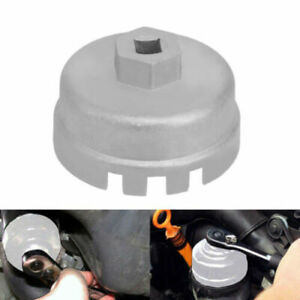 Oil Filter Cap Wrench Cup Socket Remover Tool For Toyota Lexus Ct200h 64mm