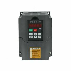 Cnc 4kw 4000w 220v 5hp Variable Frequency Drive Inverter Vfd For Spindle Moto