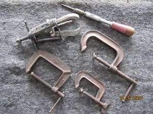 Pulley Puller C Clamps Hand Tools