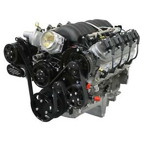 Blueprint Psls3760ctfk 376ci Ls3 Engine Dressed Longblock Black