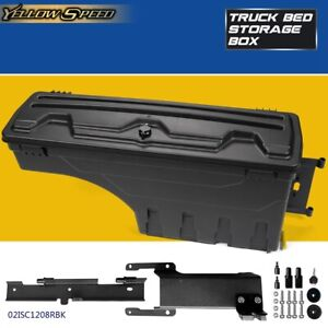 Truck Bed Right Side Rear Storage Box Toolbox For 2015 2019 Ford F150 Pickup
