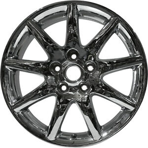 04018 Replacement New Wheel 17 X 7 Fits 2006 2010 Buick Lucerne Chrome Plated
