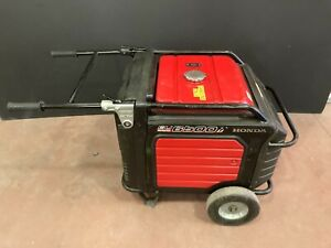 Honda Eu6500is Inverter Generator 6500 Watt used