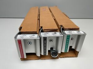 Gbc Magnapunch Die Set Of 3 3 1 Square Punch 4 1 Round And Pb 19 21 Punches