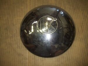 1949 49 1950 50 Kaiser Kaizer Hubcap Rim Wheel Lug Cover Center Hub Cap Oem Used