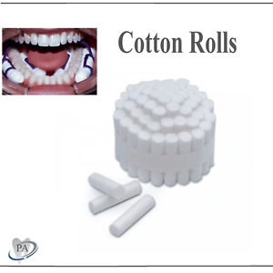 Dental Cotton Rolls 2 Surgical Disposable Medium High Absorbent Us Up To 2000