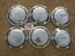 1968 1969 1970 Chevy Impala Caprice Bel Air Biscayne Poverty Dog Dish Hubcaps
