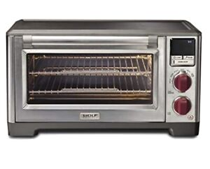 Wolf Counter Top Oven light Red Knobs Brand New