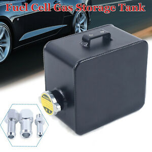 Explosion Proof 2 5l Top Feed Aluminum Racing Fuel Cell Gas Storage Tank Cap
