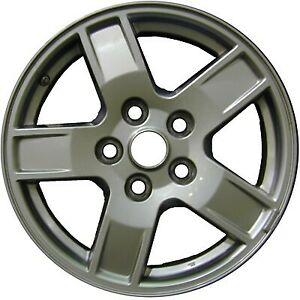 Wheel For 2005 2007 Jeep Grand Cherokee 17x7 5 Polished Refinished 17 Inch Rim