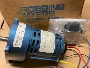 New Robbin Myers Hd Psc 3 Rpm 115v 6 A Gearmotor W inertia Dynamic Brake Rev