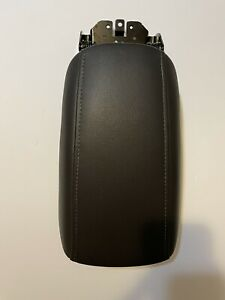 2013 2014 2015 2016 Ford Fusion Center Console Lid Armrest Black Leather