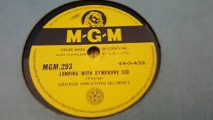 George Shearing Quintet Jumping With Symphony Sid I ll Remember April Mgm293