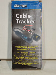 New Cen tech Cable Tracker Tester No 94181 With Case