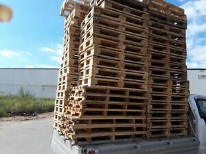 Heavy Duty Various Size Pallets Wood Pallets Local Pick Up Or Delivery