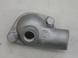 Chevy 6103 283 Small Block Cast Iron Chevrolet Thermostat Housing