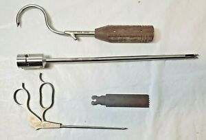 Mixed Lot Of 4 Biomet Surgical Medical Instruments cpic4details