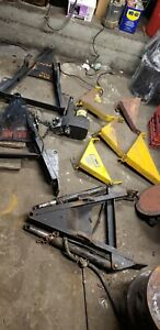 Older Fisher Snow Plow Parts Lot