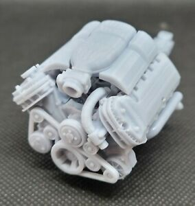 Boss 302 Mustang Coyote Model Engine Resin 3d Printed 1 32 1 8 Scale
