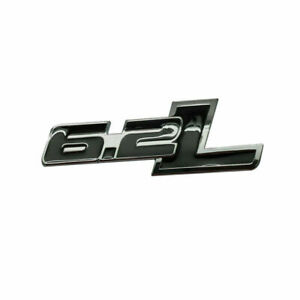 1x Metal 6 2l Emblems Badge Stickers For Ford F 150 F 250 F 350 Chevrolet Camaro